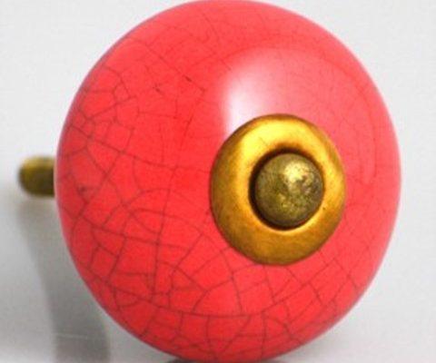 Crackled ceramic Antique RED US$8.95