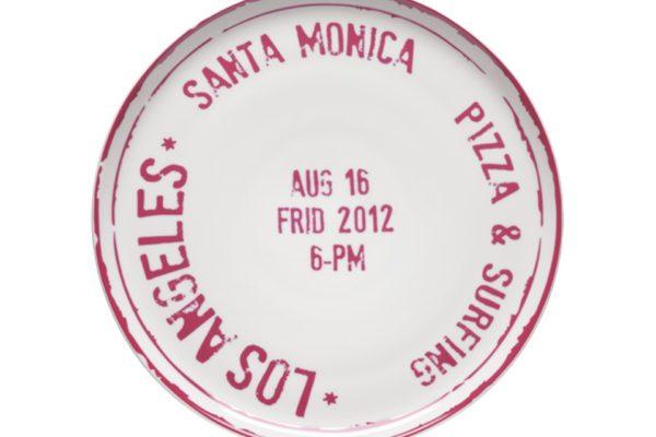 Pizza Plate LA MCA 7 Ø 31.5cm US$25.03
