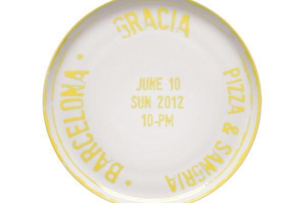 Pizza Plate Barcelona MCA 6 Ø 31.5cm US$25.03