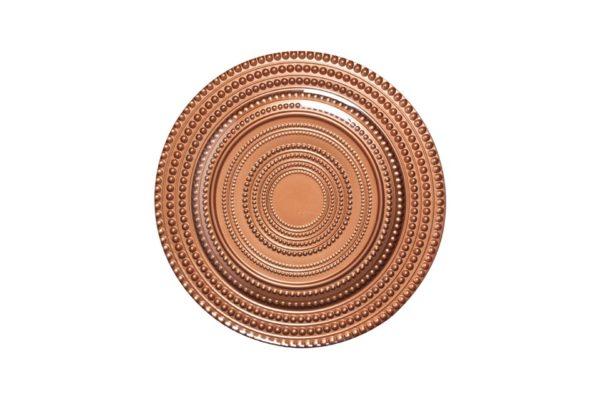 Round tray copper Ø31cm BHT1310 US$34.10