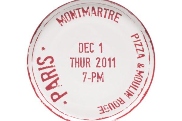 Pizza Plate Paris MCA 1 Ø 31.5cm US$25.03