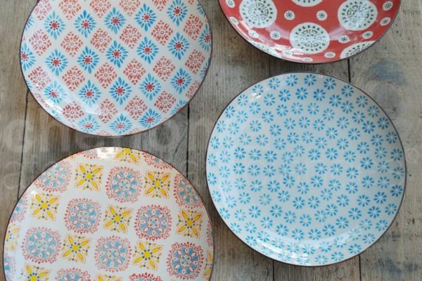 large-bohemian-dinner-plates